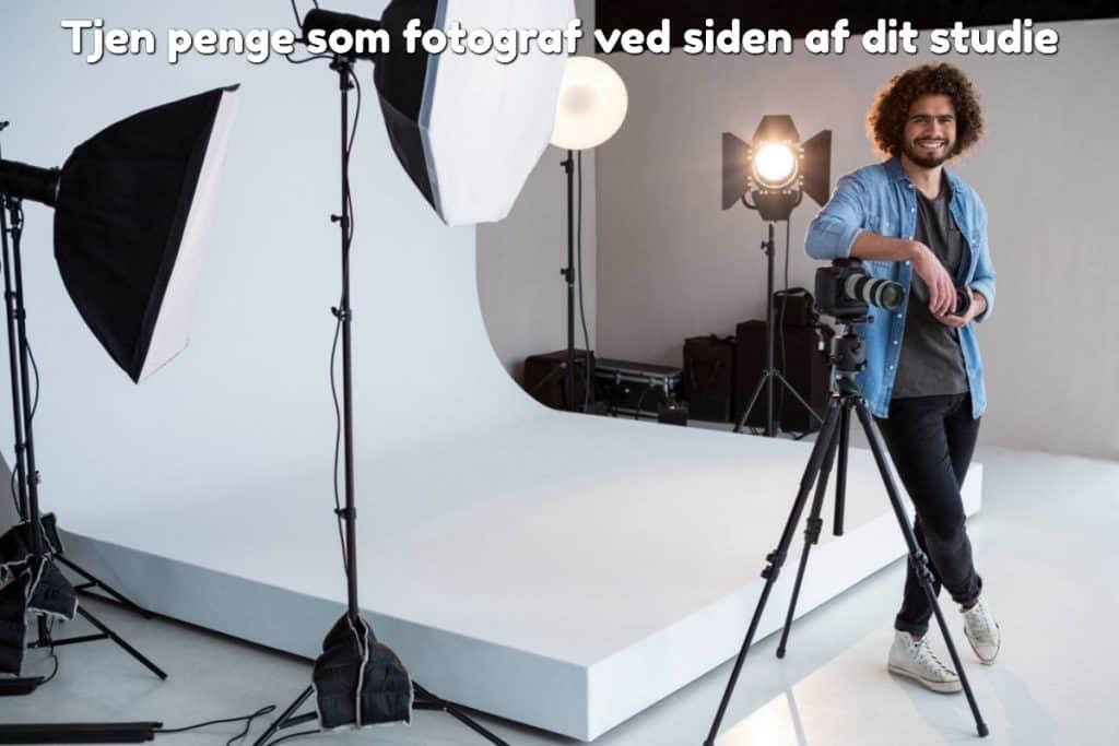 Tjen penge som fotograf ved siden af dit studie