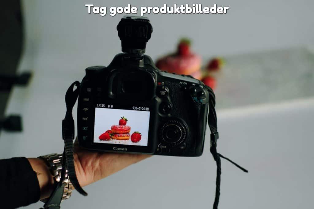 Tag gode produktbilleder